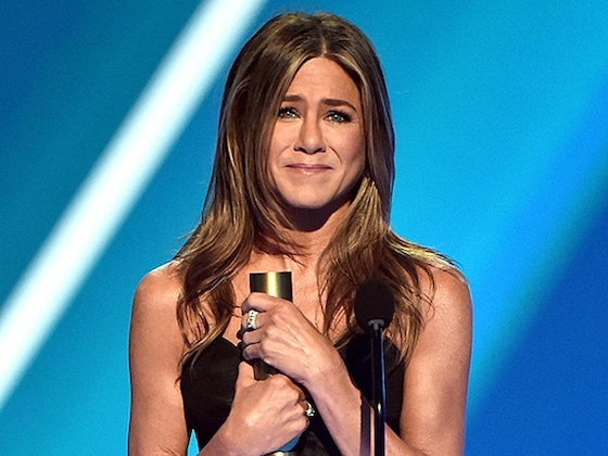 Jennifer Aniston Dishes On the ''True Sweetness'' That Was Adam Sandler's Speech at the 2019 PCAs