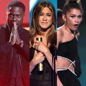 Kevin Hart, Jennifer Aniston, Zendaya, 2019 Peoples Choice Awards, 2019 PCAs, Jaw-droppers