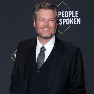 Blake Shelton, 2019 E! People's Choice Awards, Red Carpet Fashion