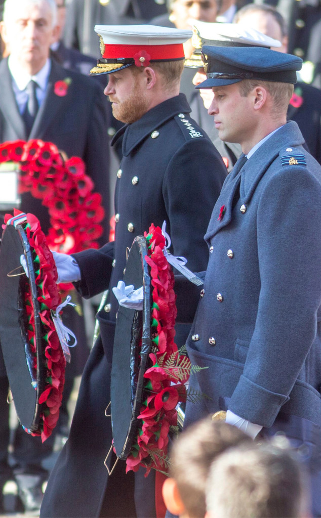 photos from meghan harry william and kate attend 2019 remembrance day events e online kate attend 2019 remembrance day events