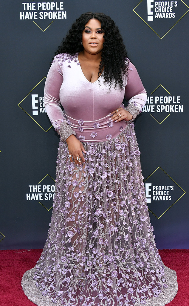 Nina Parker, 2019 E! People's Choice Awards, Red Carpet Fashion