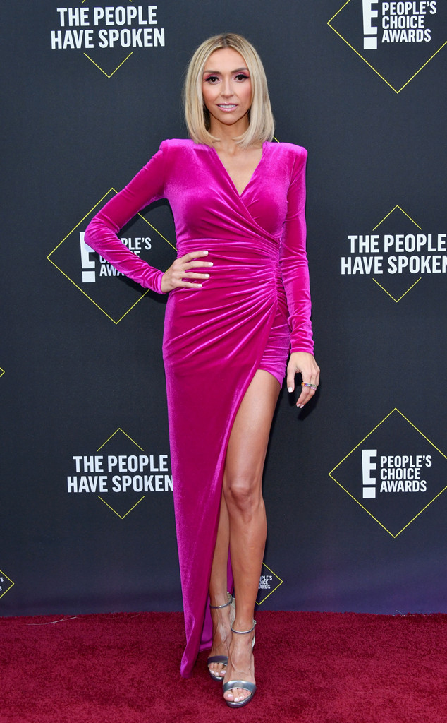 Giuliana Rancic, 2019 E! People's Choice Awards, Red Carpet Fashion