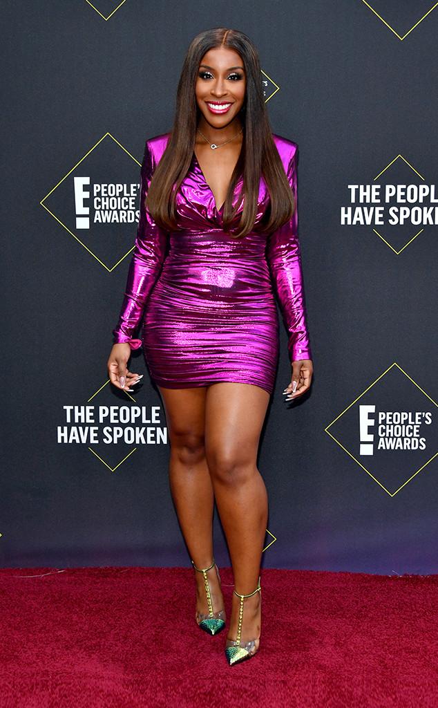 Jackie Aina, 2019 E! People's Choice Awards, Red Carpet Fashion