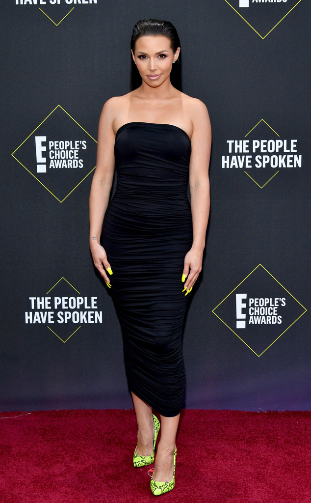 Scheana Shay, 2019 E! People's Choice Awards, Red Carpet Fashion