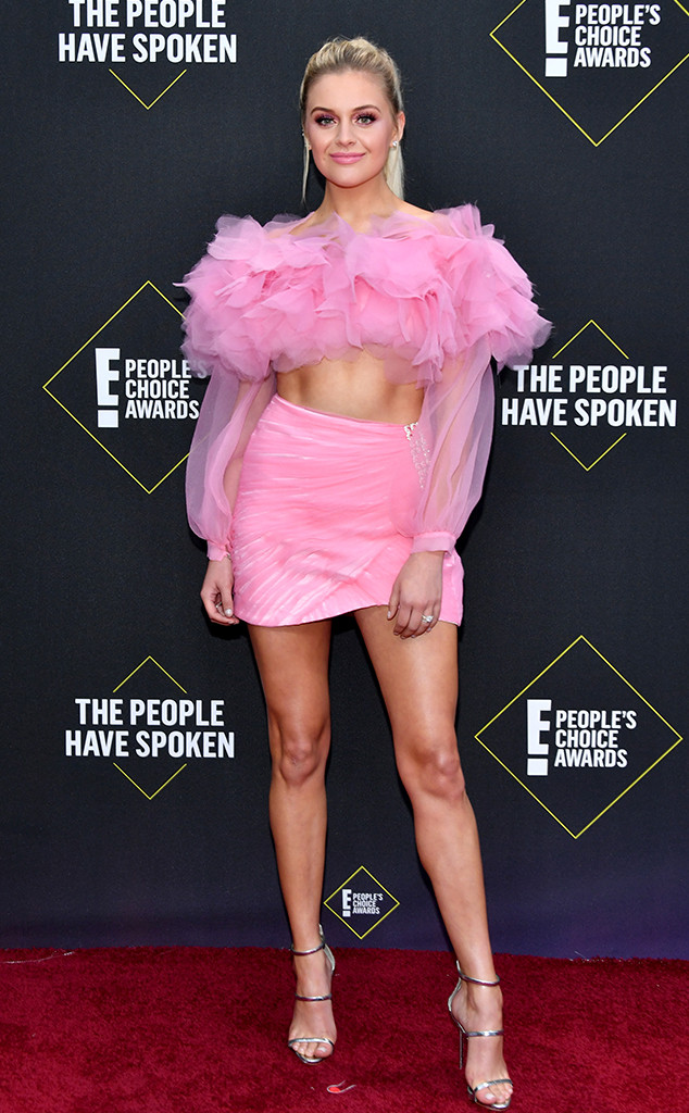 Kelsea Ballerini, 2019 E! People's Choice Awards, Red Carpet Fashion