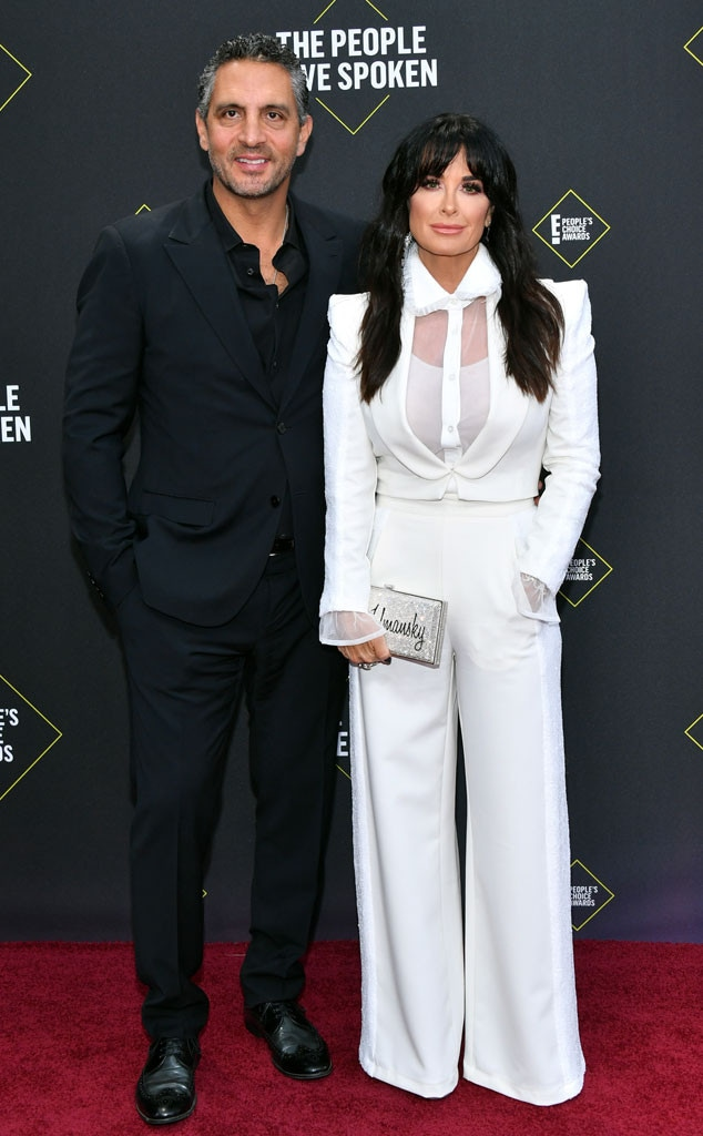 Mauricio Umansky, Kyle Richards, 2019 E! Peoples Choice Awards, Couples