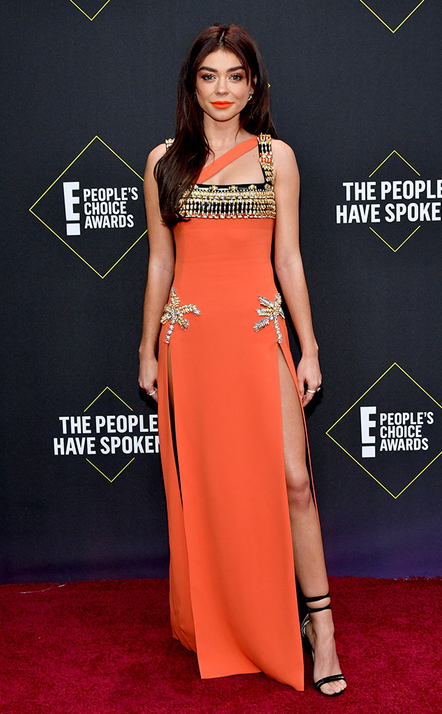 Sarah Hyland, 2019 E! People's Choice Awards, Red Carpet Fashion