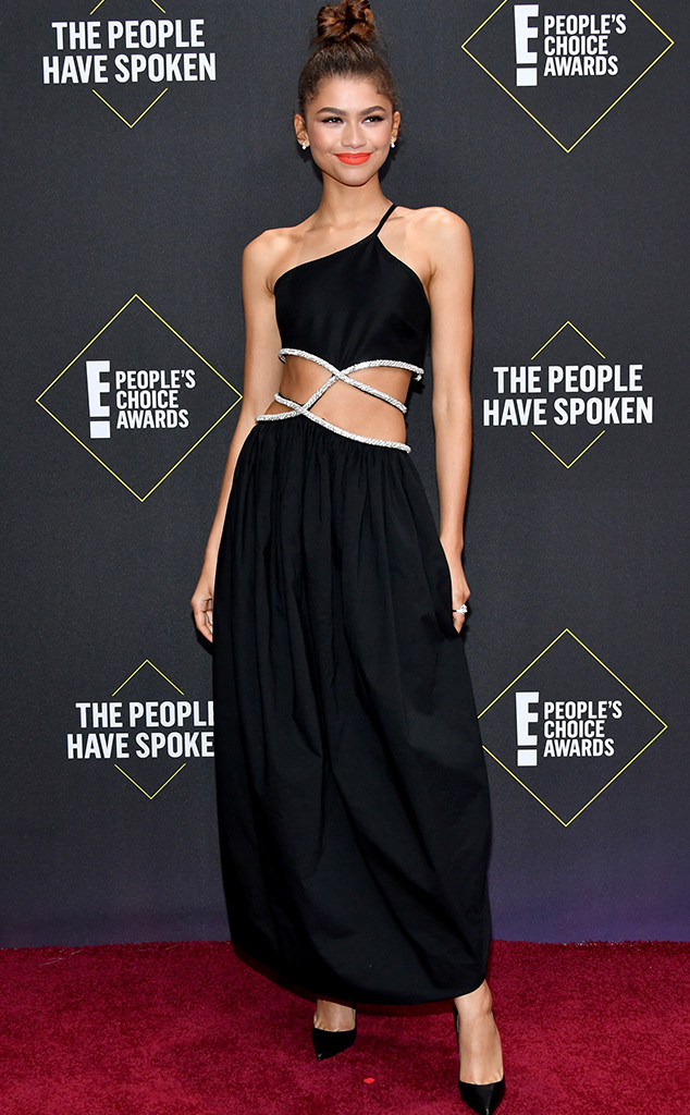 Zendaya, 2019 E! People's Choice Awards, Red Carpet Fashion