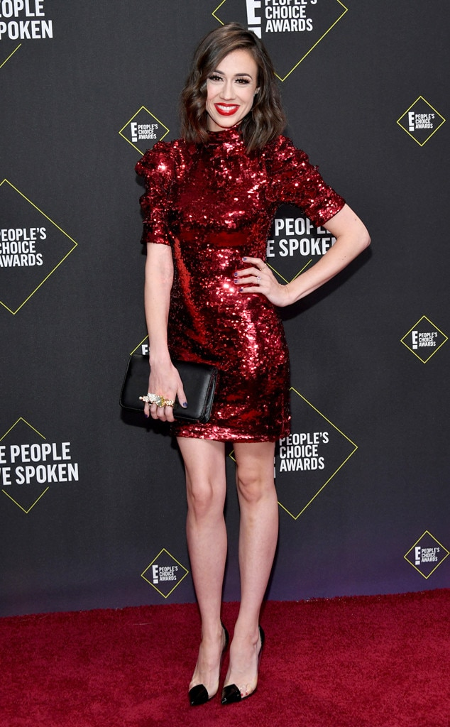 Colleen Ballinger, 2019 E! People's Choice Awards, Red Carpet Fashion