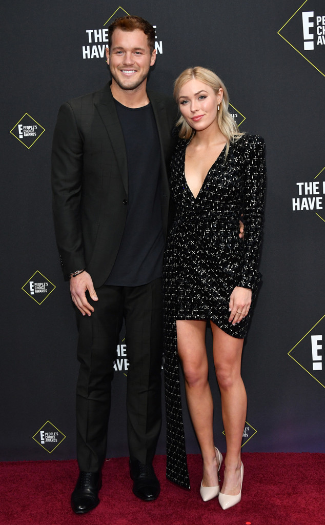 Colton Underwood, Cassie Randolph, 2019 E! People's Choice Awards, Couples