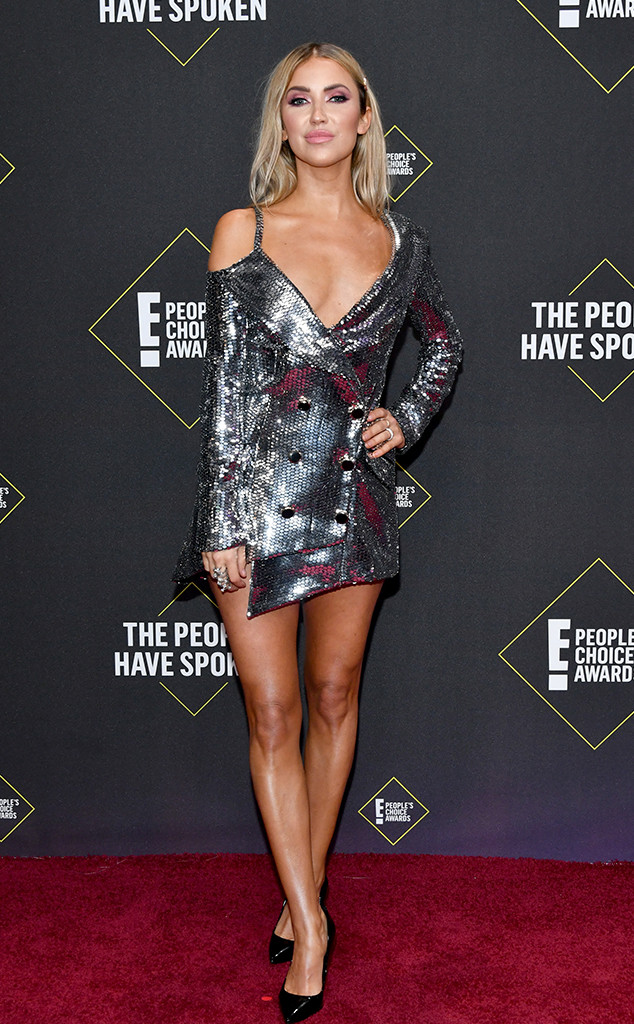 Kaitlyn Bristowe, 2019 E! People's Choice Awards, Red Carpet Fashion