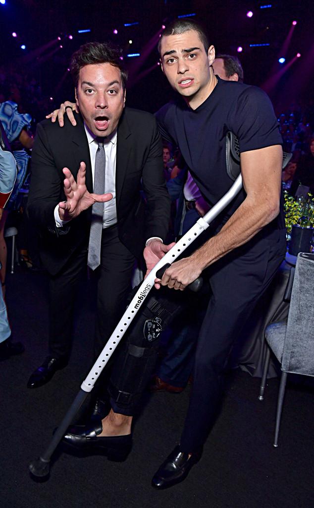 Jimmy Fallon, Noah Centineo, 2019 E! People's Choice Awards, Candids