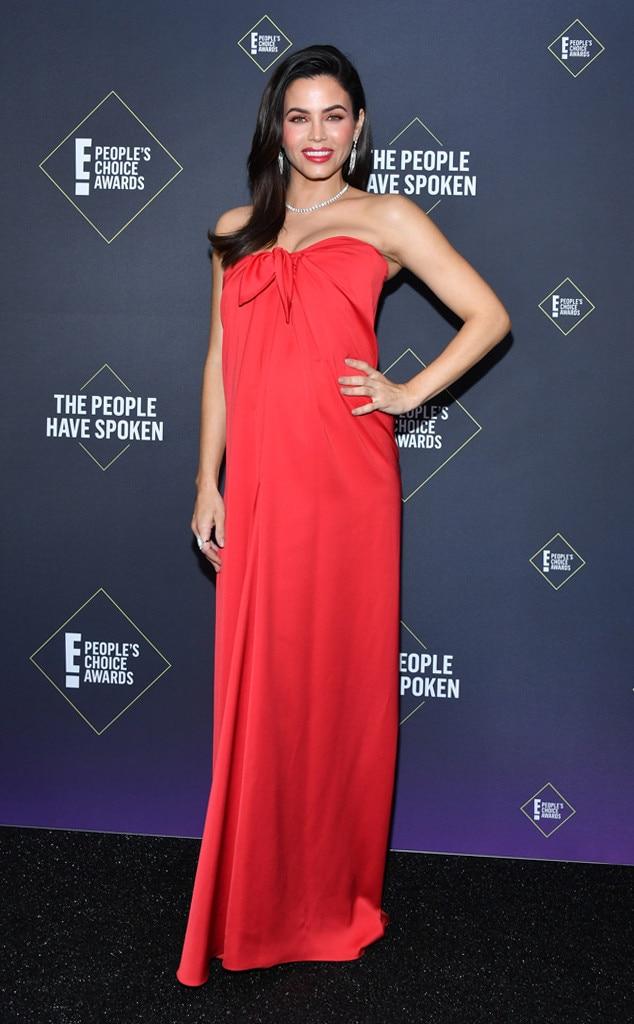Jenna Dewan, 2019 E! People's Choice Awards, Red Carpet Fashion
