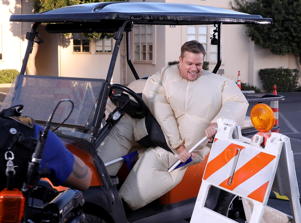 Matt Damon, The Ellen DeGeneres Show 2019