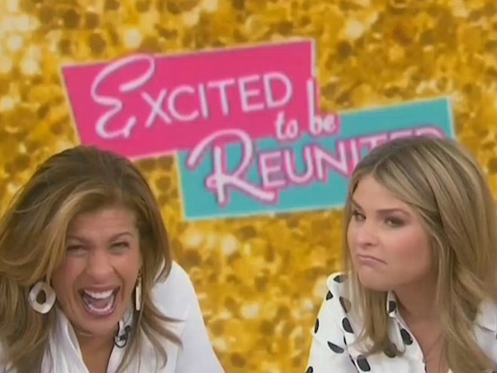 Jenna Bush Hager and Hoda Kotb's <i>Today</i> Reunion Is the Best Thing to Wake Up to