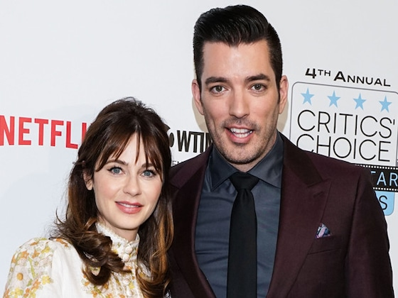 Jonathan Scott Makes a Surprise Cameo on Zooey Deschanel's Tour