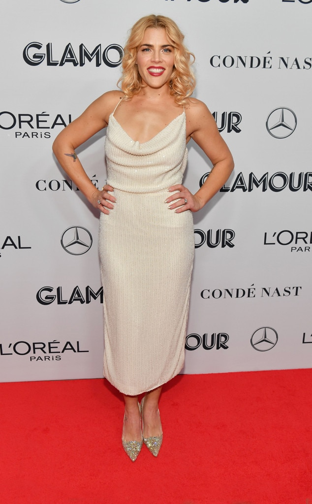Busy Philipps, 2019 Glamour Women of the Year Awards, Fashion Police Widget