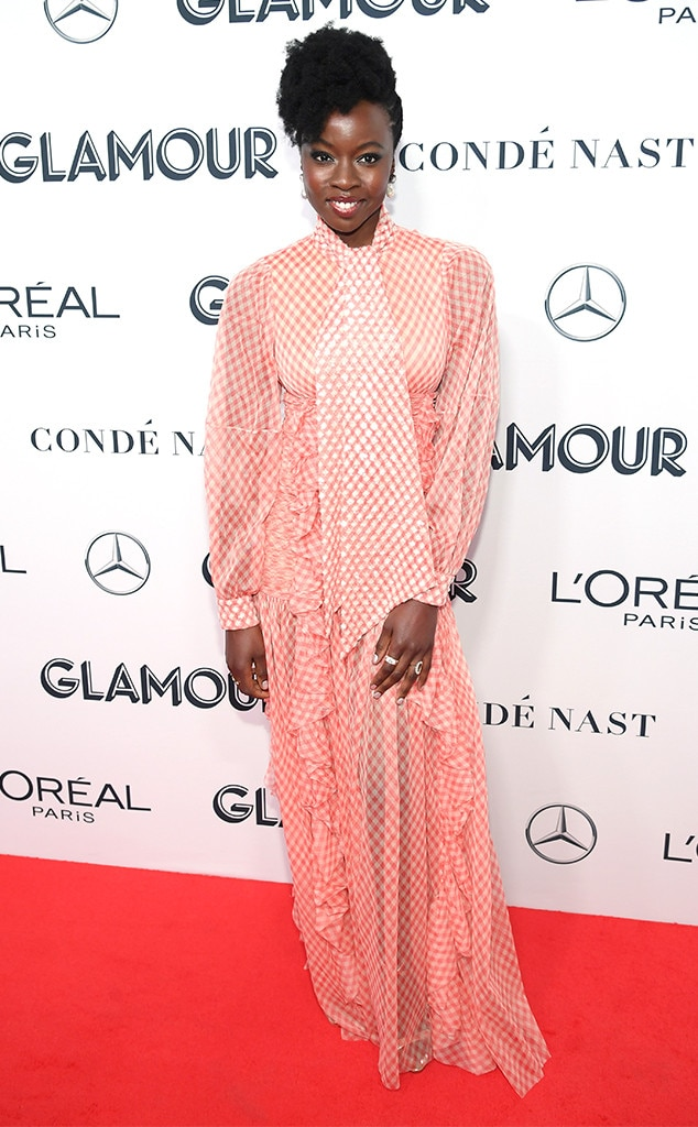 Danai Gurira, 2019 Glamour Women Of The Year Awards
