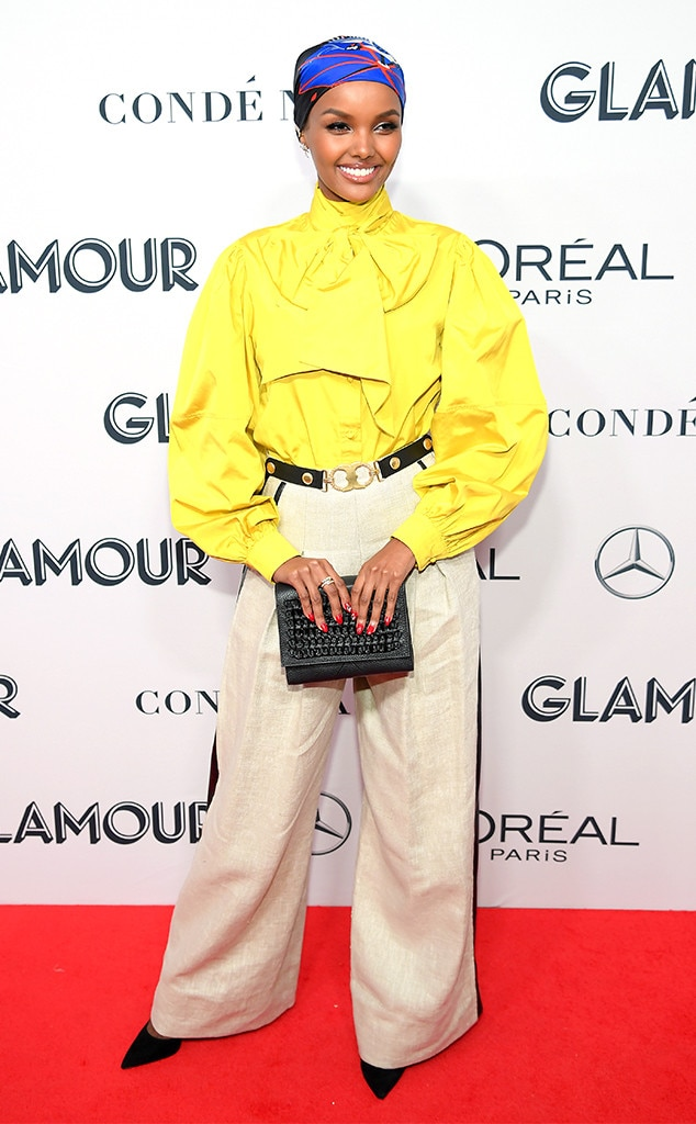 Halima Aden, 2019 Glamour Women Of The Year Awards