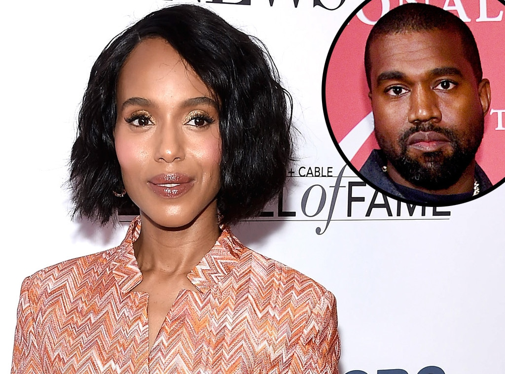 Kerry Washington, Kanye West