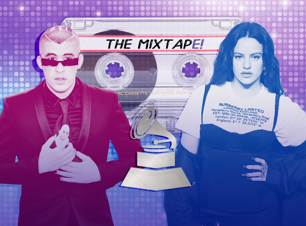 The MixtapE!, Bad Bunny, Rosalia, Latin Grammy Awards