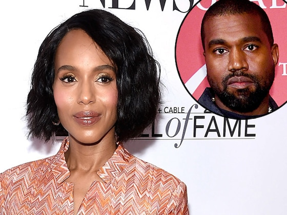 Why Kerry Washington Hilariously Keeps Getting Texts Meant for Kanye West