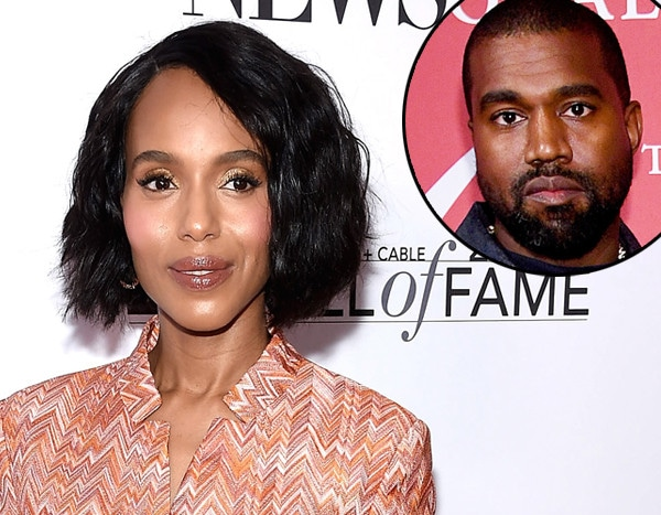 Why Kerry Washington Keeps Getting Texts Meant for Kanye West - E! NEWS
