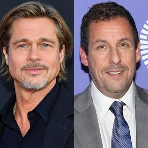 Brad Pitt, Adam Sandler