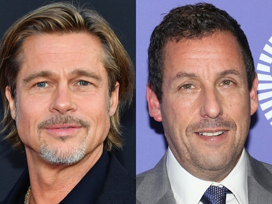 Brad Pitt and Adam Sandler Go to Seriously Great Lengths to Avoid Being Recognized