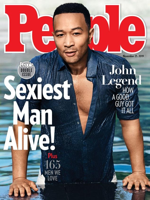 John Legend, 2019 PEOPLE's sexiest man alive