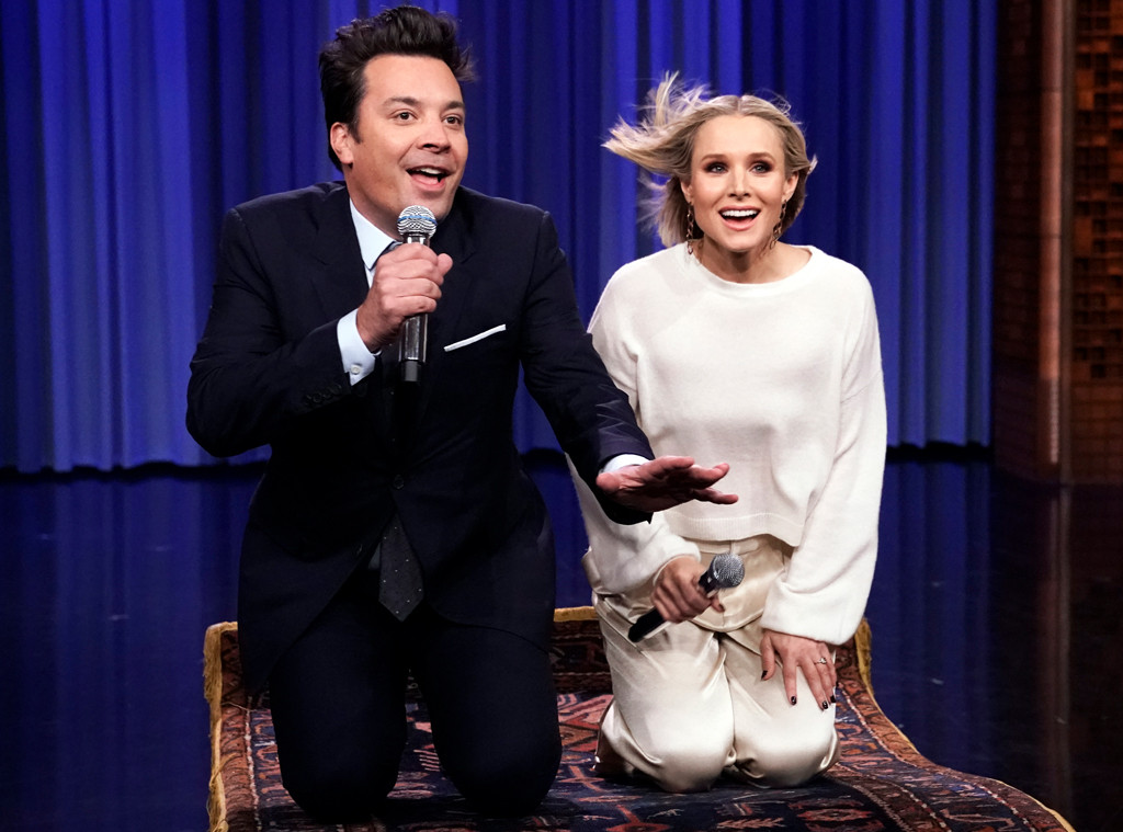 Kristen Bell, The Tonight Show Starring Jimmy Fallon 2019
