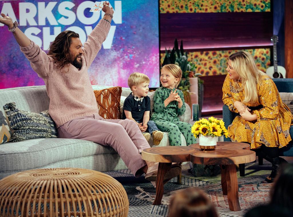 Jason Momoa, The Kelly Clarkson Show 2019