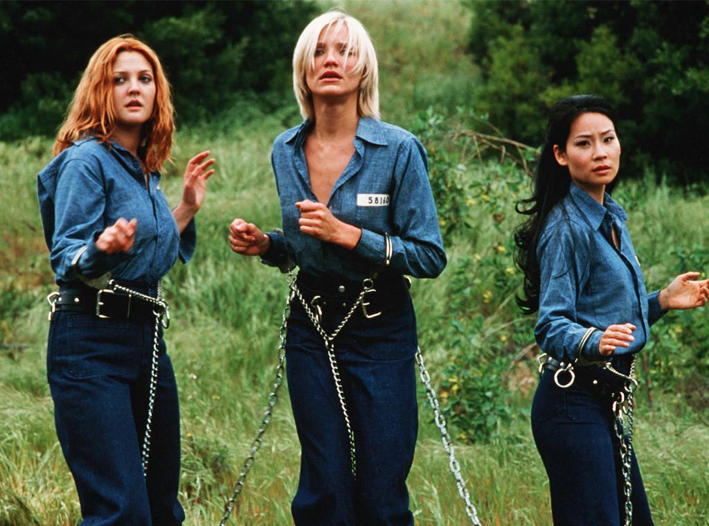 Drew Barrymore, Cameron Diaz, Lucy Liu, Charlie's Angels, 2000