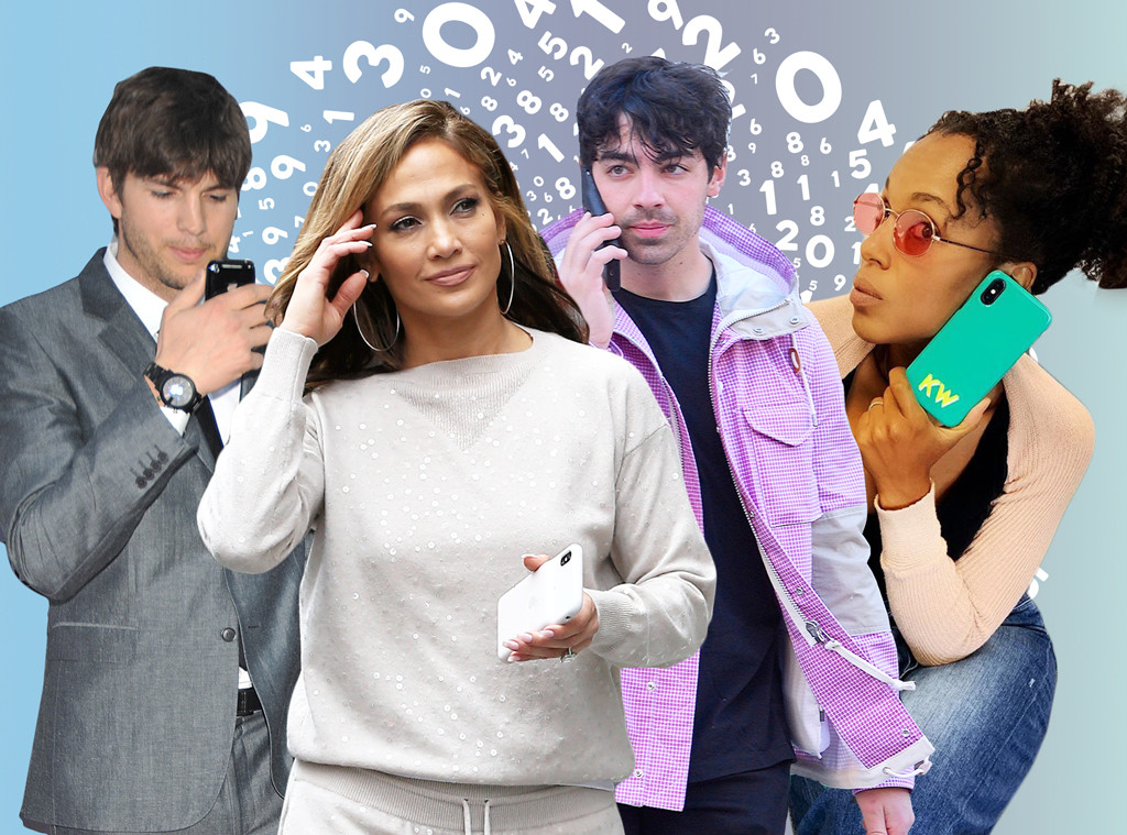 Celebrity Phone Numbers Feature, Ashton Kutcher, Jennifer Lopez, Kerry Washington, Joe Jonas