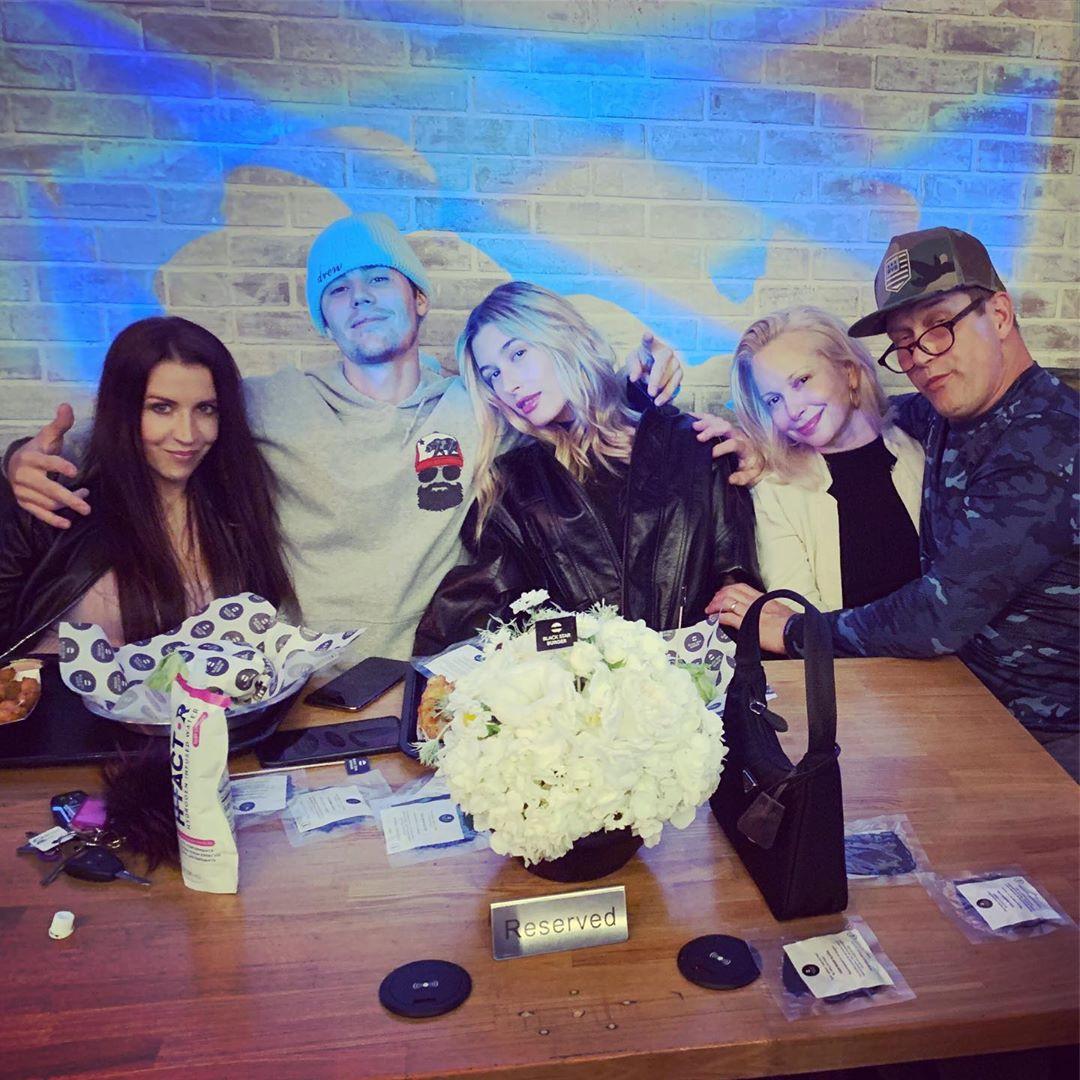Pattie Mallette, Justin Bieber, Hailey Bieber, Stephen Baldwin