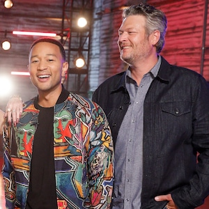 John Legend, Blake Shelton