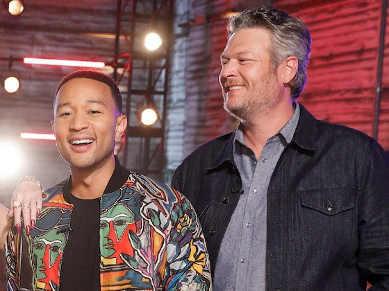 <i>People</i>'s Sexiest Men John Legend and Blake Shelton Are Now Singing About Their Sexiness