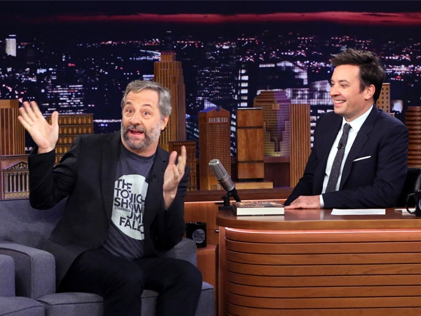 Jimmy Fallon Almost Got Judd Apatow Arrested After a Candy Fight—And He's Still Mad