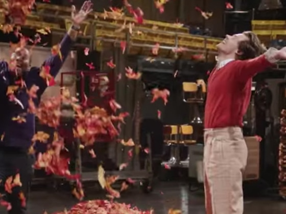 What's More Pure Than Harry Styles Frolicking in Leaves for <I>SNL</i>?</I>