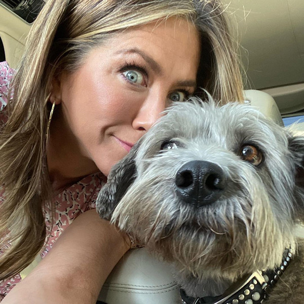 Only Jennifer Aniston Could Make Walking Her Dog Look This Chic