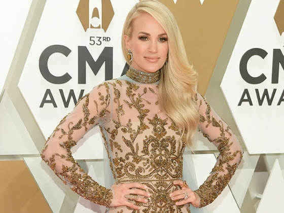 Carrie Underwood Is Sheer Perfection on the 2019 CMA Awards Red Carpet