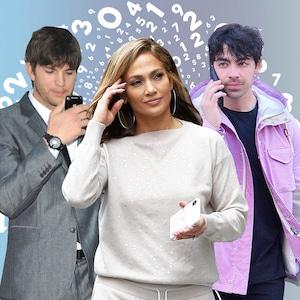 Celebrity Phone Numbers Feature, Ashton Kutcher, Jennifer Lopez, Kerry Washington, Joe Jonas