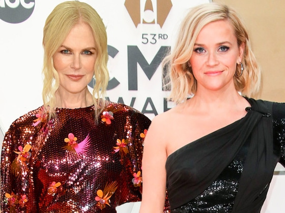 Reese Witherspoon and Nicole Kidman Have a <i>Big Little Lies</i> Reunion During 2019 CMA Awards