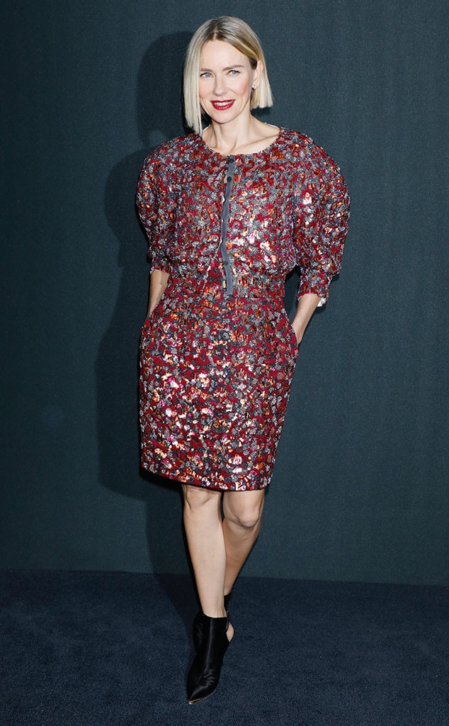 Naomi Watts, Fashion Police Widget
