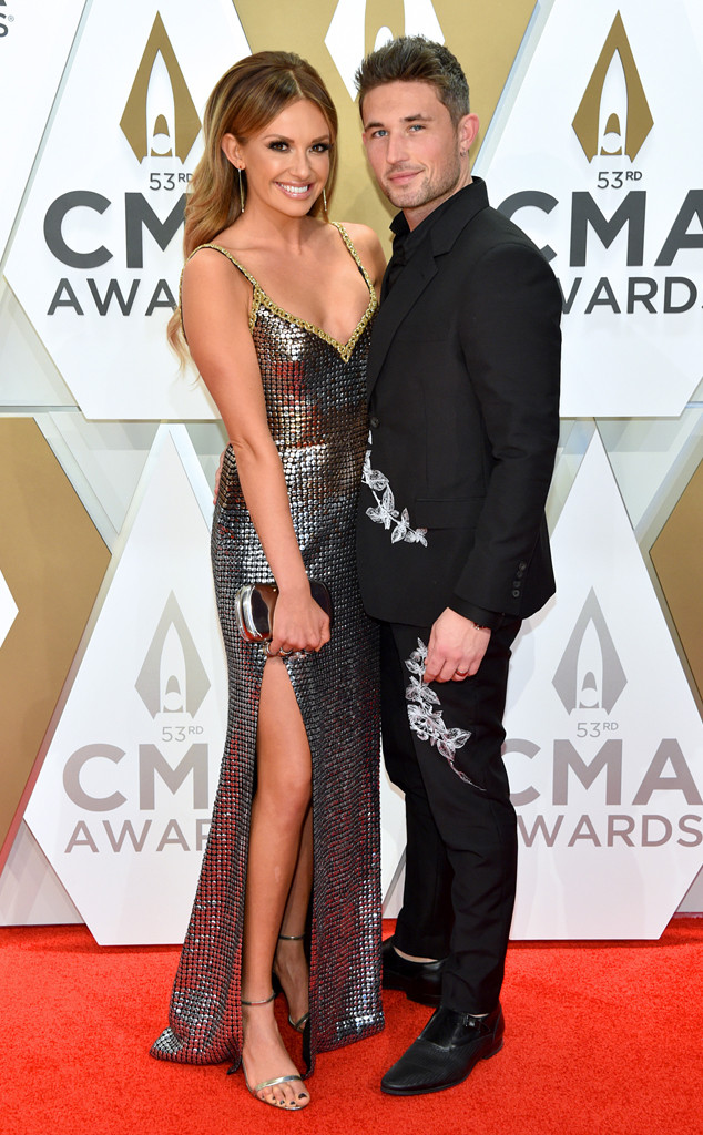Carly Pearce, Michael Ray, 2019 CMA Awards, Red Carpet Fashion, Couples