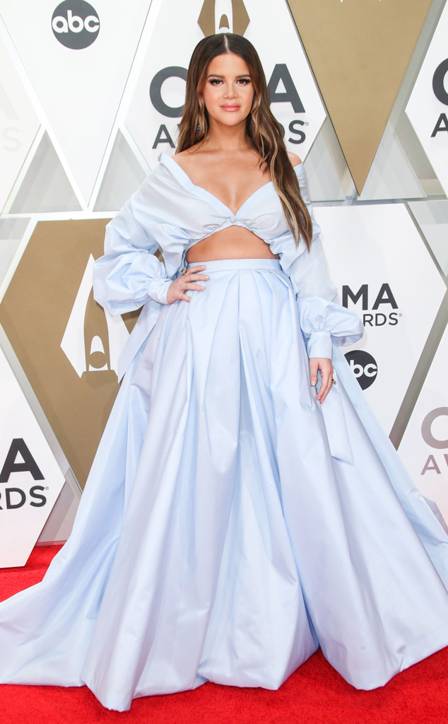 Maren Morris, 2019 CMA Awards, Red Carpet Fashion