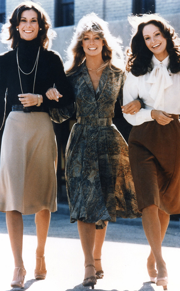 Charlie's Angels, Jaclyn Smith, Farrah Fawcett, Kate Jackson