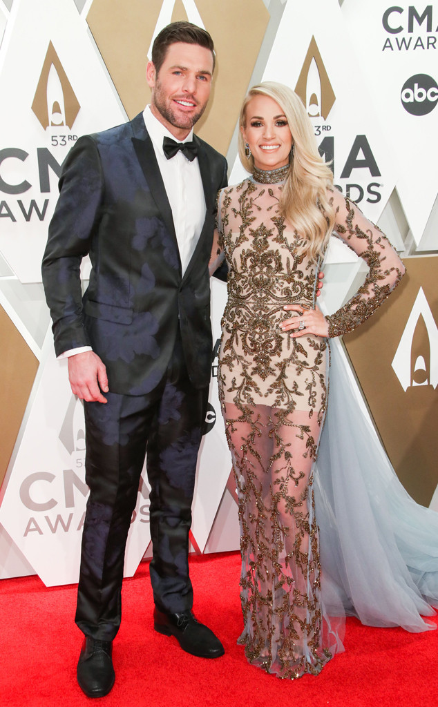 Mike Fisher, Carrie Underwood, 2019 CMA Awards, Couples