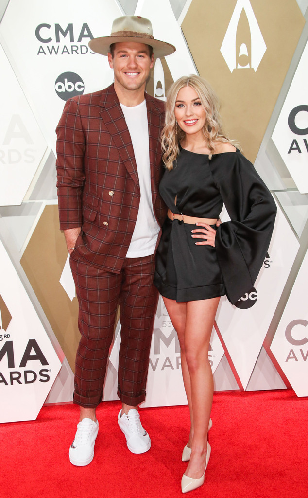 Colton Underwood, Cassie Randolph, 2019 CMA Awards, Couples
