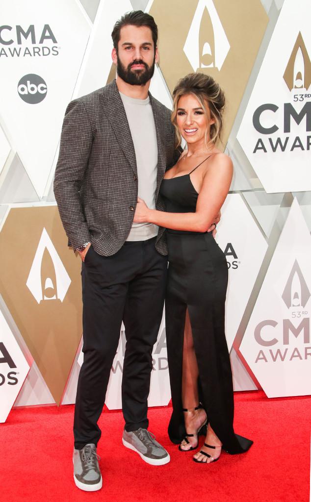 Eric Decker, Jessie James Decker, 2019 CMA Awards, Couples